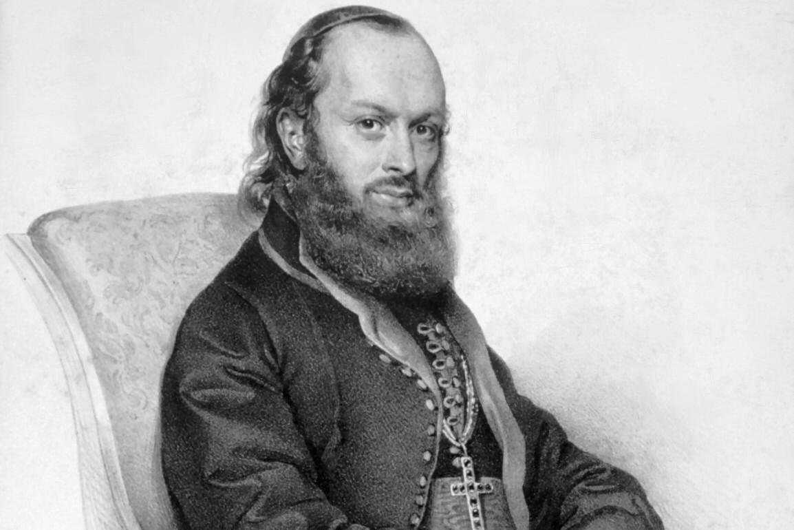 Episkop Pantelejmon Živković (Foto: Wikimedia/Eigenes Foto einer Originallithographie der Albertina – Wien)