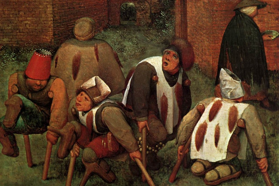 "Piter Brojgel stariji, ""Prosjaci"", 1568. (Foto: Wikimedia/JarektUploadBot)"