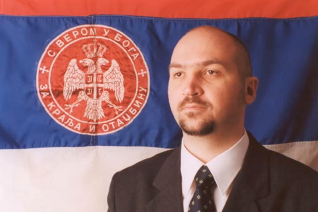 """Osnivač i prvi predsednik Otačastvenog pokreta """"Obraz"""" (Foto: Snimak ekrana/Jutjub)"""
