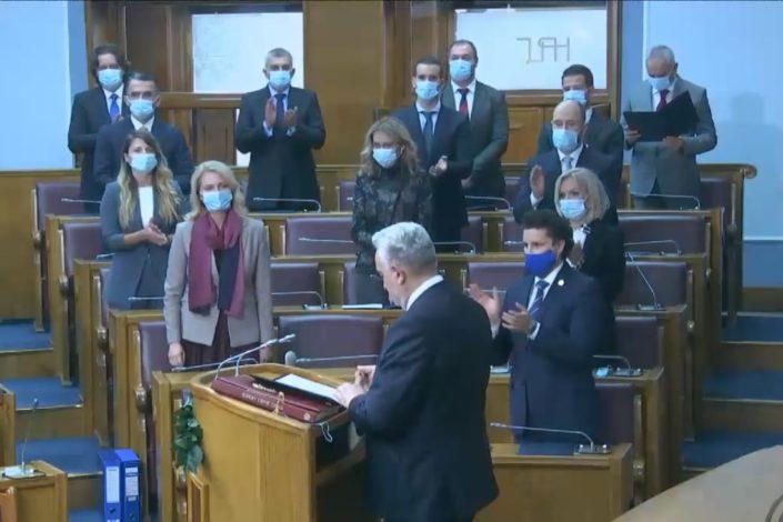 Izglasana nova vlada u Crnoj Gori