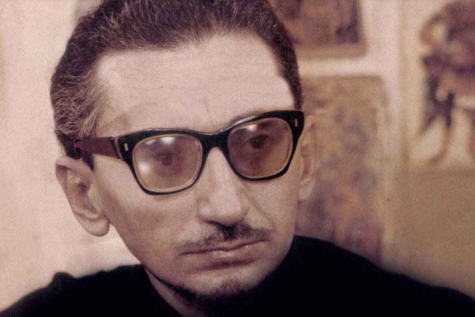 """Srpski pisac Borislav Pekić (Foto: Snimak ekrana/Katalog povodom izložbe """"Borislav Pekić 1930-1992"""")"""
