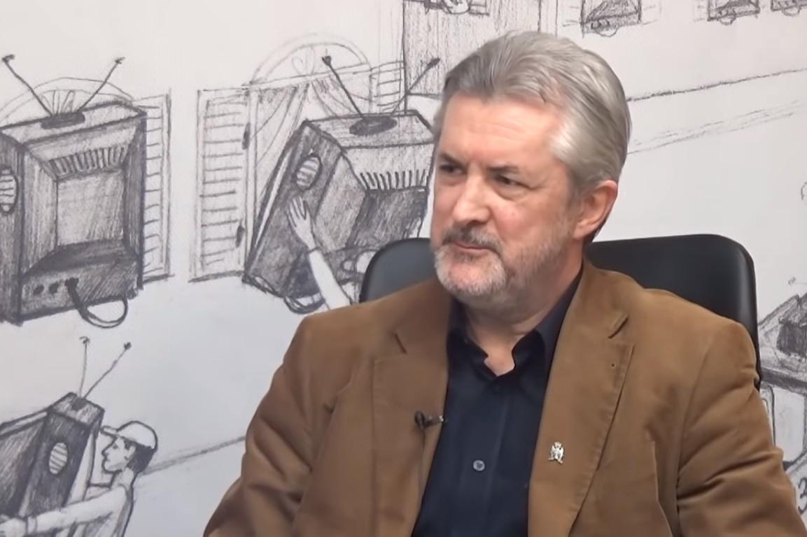 Srpski književnik, urednik i novinar Branislav Matić (Foto: Snimak ekrana/Radio Snaga Naroda – zvanični kanal)