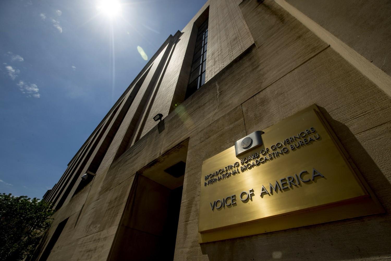 Sedište Glasa Amerike u Vašingtonu (Foto: AP Photo/Andrew Harnik)