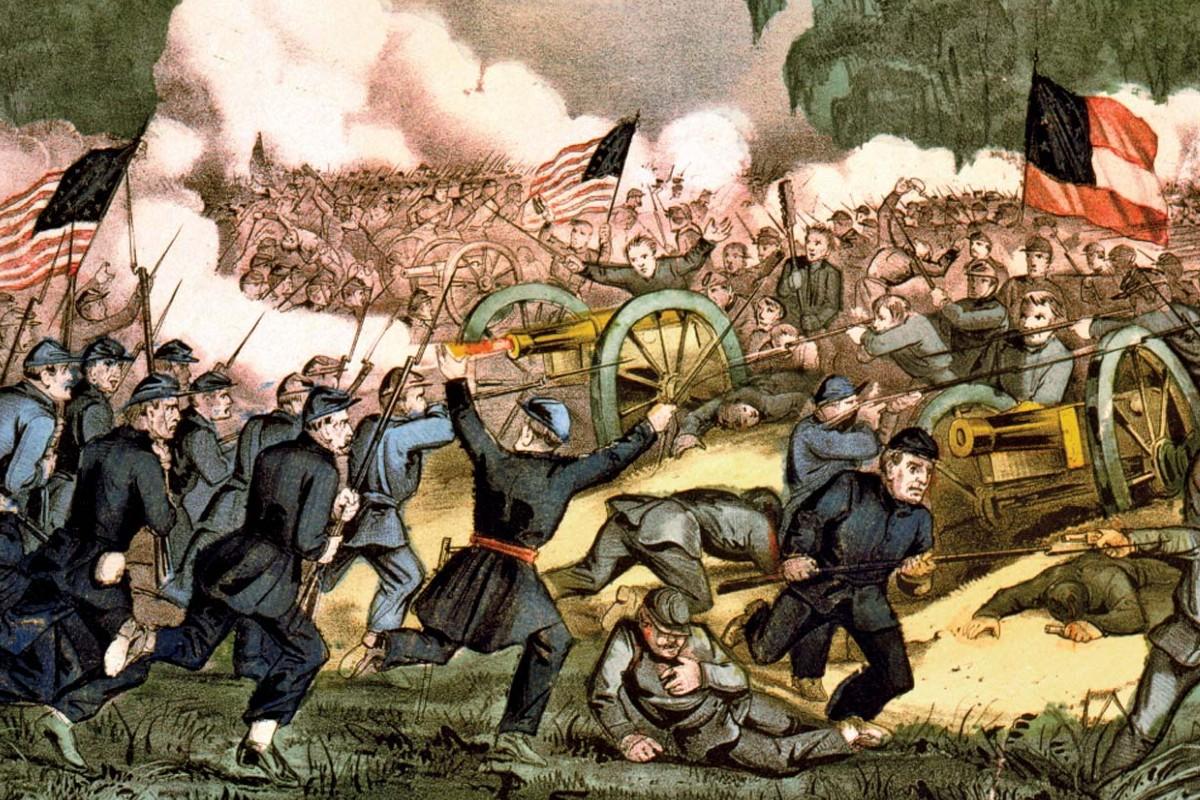 Bitka kod Getisburga (1863), jedna od najvećih, najznačajnijih i najkrvavijih bitaka u toku Američkog građanskog rata (Foto: Library of Congress, Washington, D.C./LC-USZC4-2088)