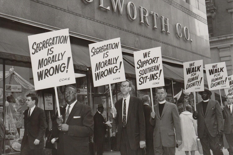 Protest protiv rasne segregacije u Njujorku 1960. (Foto: Everett Collection/Shutterstock.com)