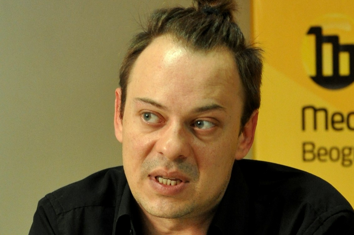 Srpski pozorišni, televizijski i filmski glumac Goran Jevtić (Foto: Medija centar Beograd)