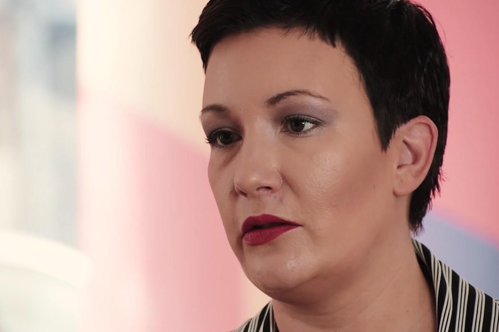 """Jovana Gligorijević, novinarka """"Vremena"""" (Foto: Snimak ekrana/Centar za antiautoritarne studije)"""