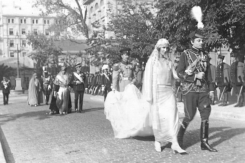 Venčanje kneza Pavla i kneginje Olge Karađorđević 22. oktobra 1923. (Foto: Wikimedia/Fejsbuk/Fragmenti prošlosti)