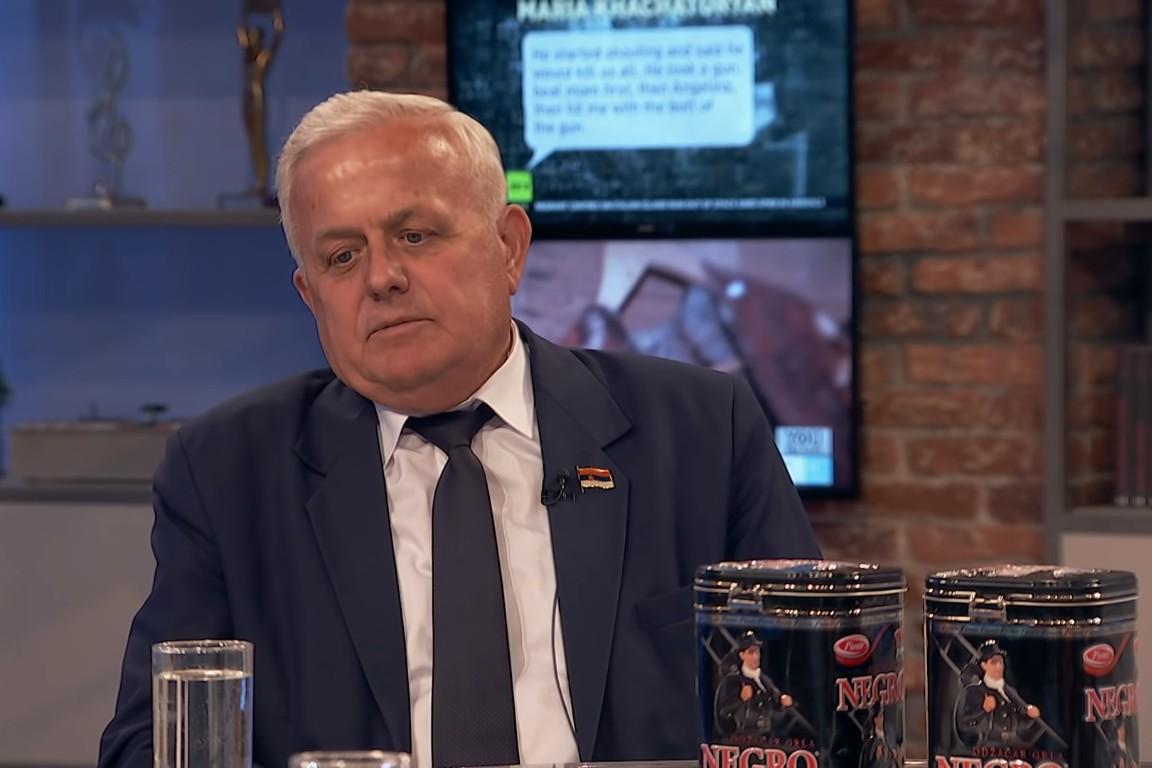 Narodni poslanik prof. dr Marko Atlagić (Foto: Snimak ekrana/Novo jutro)