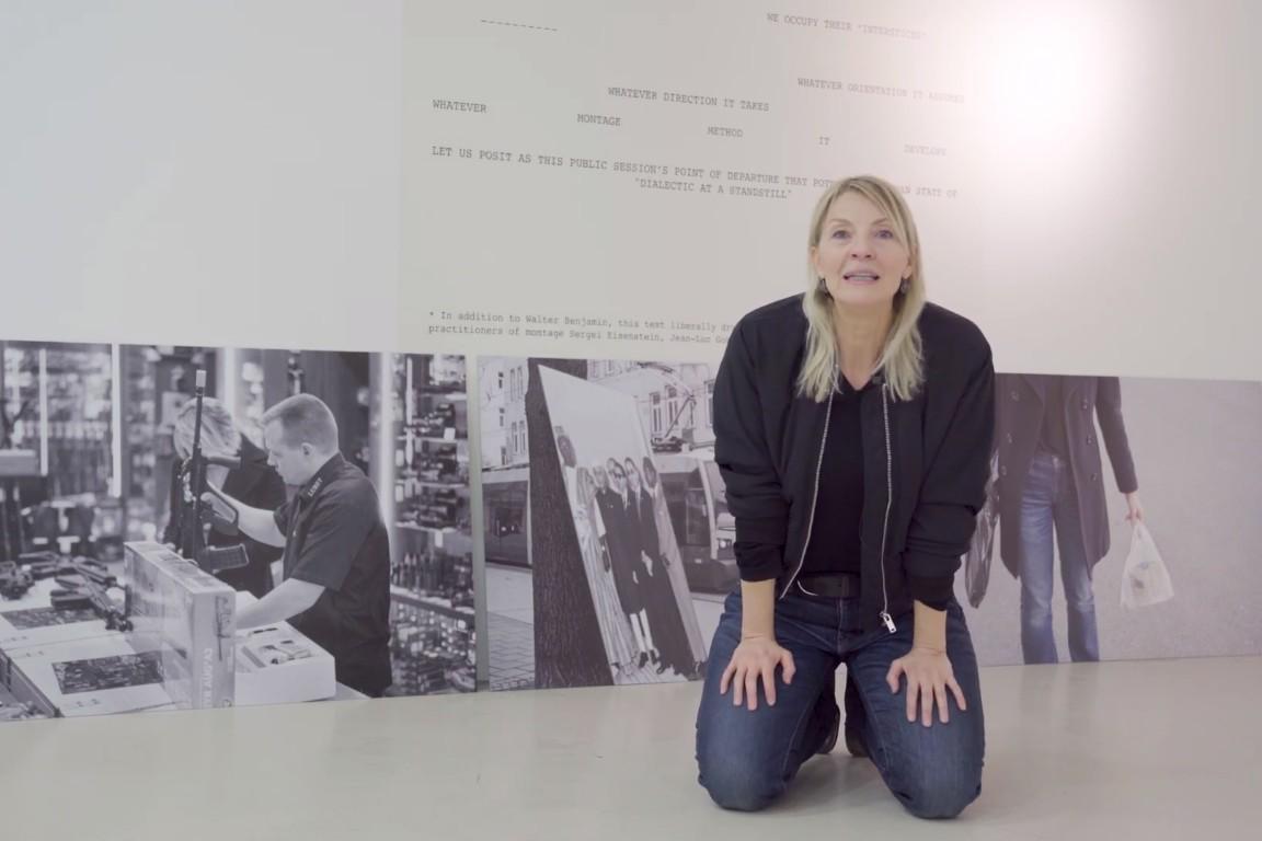 Мултимедијална уметница Милица Томић (Фото: Снимак екрана/Kunsthalle Wien)