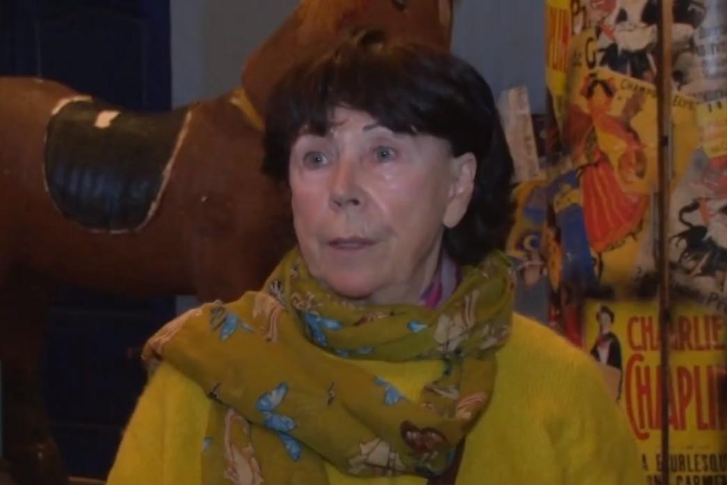 Srpska glumica Jelisaveta Seka Sablić (Foto: Snimak ekrana/TV Subotica)