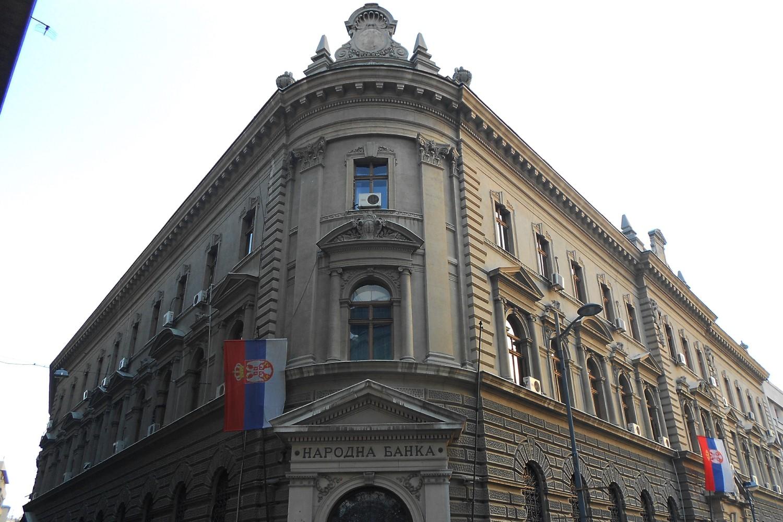 Zgrada Narodne banke Srbije u ulici Kralja Petra u Beogradu (Foto: Wikimedia/NMedjedov)