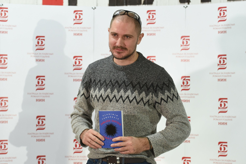 Vladimir Tabašević, 65. dobitnik NIN-ove nagrade i jedan od pristalica bojkota NIN-ove nagrade (Foto: Tanjug/Dragan Kujundžić)