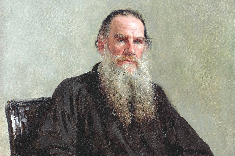 """Portret Lava Nikolajeviča Tolstoja"", Ilja Jefimovič Repin, 1887. (Foto: Wikimedia/lj.rossia.org)"