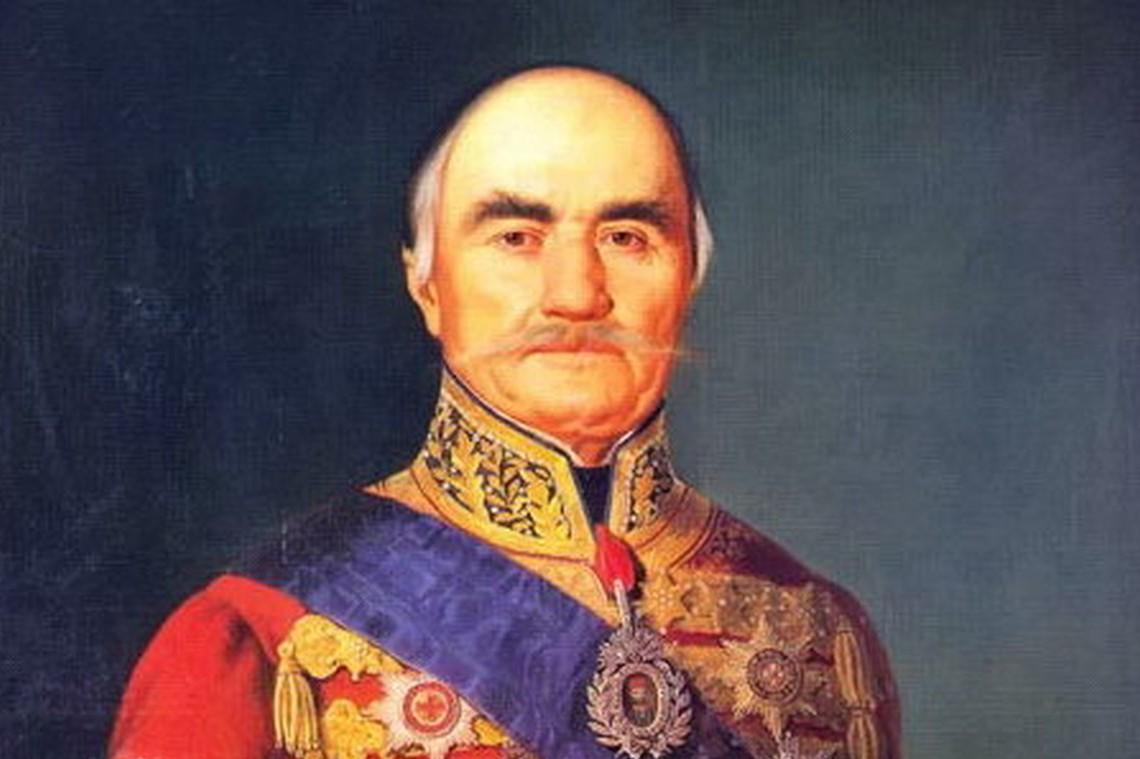 """Knez Miloš Obrenović"", Moric M. Dafinger, 1848. (Foto: Wikimedia)"