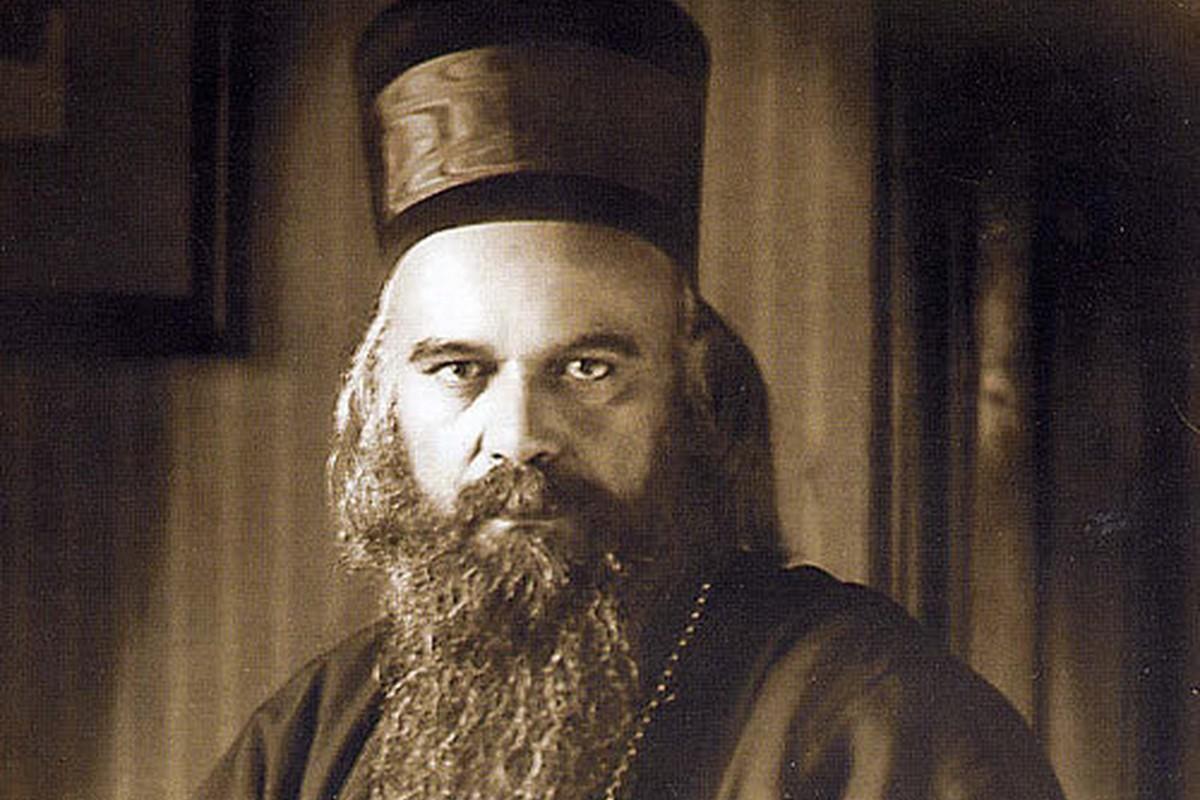 Sveti vladika Nikolaj Ohridski i Žički (Foto: Wikimedia/zica.org.rs)