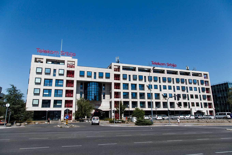 Poslovna zgrada Telekom Srbija (Foto: mts.rs)