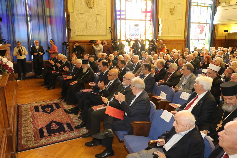 Akademici i gosti SANU tokom obeležavanja Dana Srpske akademije nauka i umetnosti, 19. novembar 2018. (Foto: spc.rs)