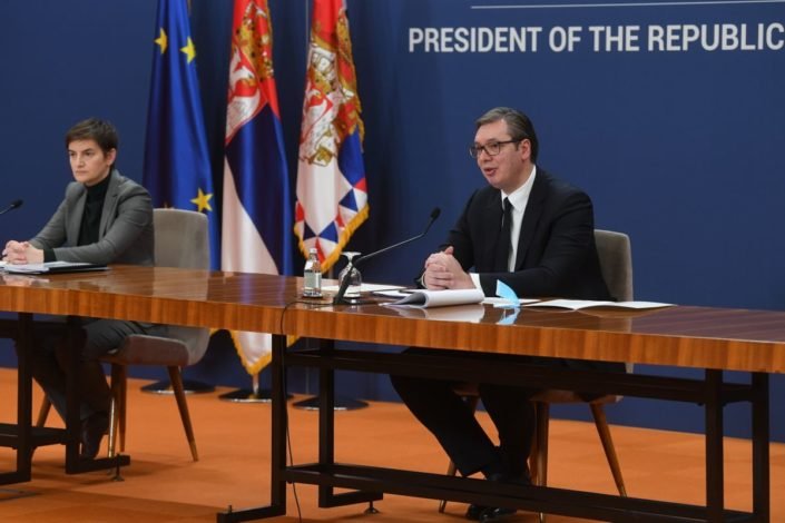 Vučić i Brnabić o 100 dana vlade: Nezabeleženi rezultati
