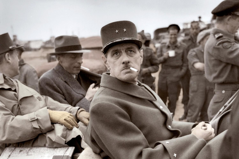 General Šarl de Gol u Normandiji tokom Drugog svetskog rata, 14. jun 1944. (Foto: adoc-photos/Corbis via Getty Images)