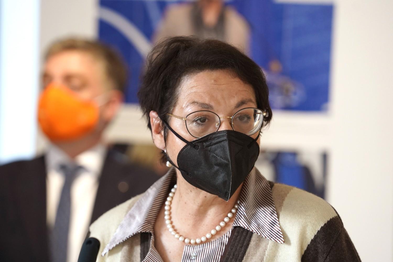 Ministarka za ljudska i manjinska prava i društveni dijalog Gordana Čomić (Foto: Tanjug/Dragan Kujundžić)