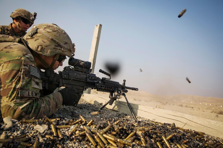 Američki vojnici tokom dejstava u Avganistanu, 15. decembar 2014. (Foto: Reuters/Lucas Jackson)