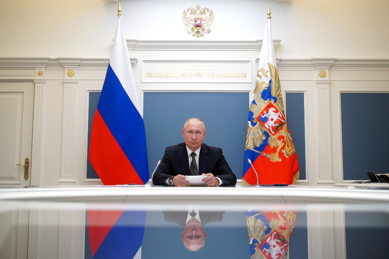 Predsednik Rusije Vladimir Putin (Foto: Alexei Babushkin/Sputnik/Kremlin via Reuters)