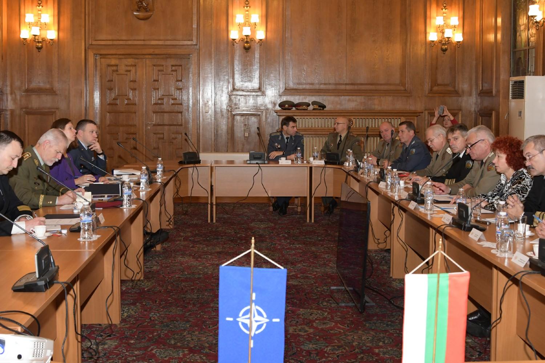 Sastanak bugarskih i NATO vojnih starešina u Sofiji, 01. decembar 2017. (Foto: nato.int)