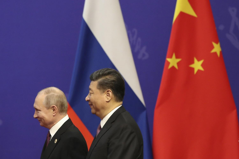 Predsednik Rusije Vladimir Putin i predsednik Kine Si Đinping tokom susreta u Pekingu, 26. april 2019. (Foto: Kenzaburo Fukuhara/Pool Photo via AP)