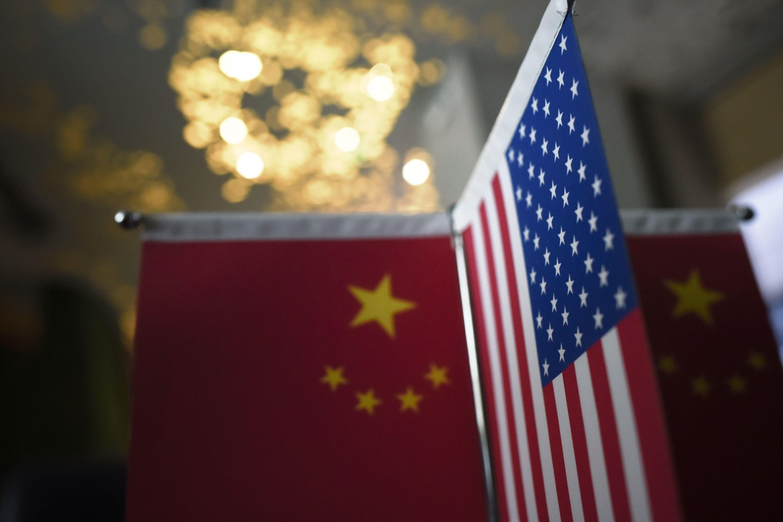 Zastave Kine i Sjedinjenih Država (Foto: Wang Zhao/AFP/Getty Images)