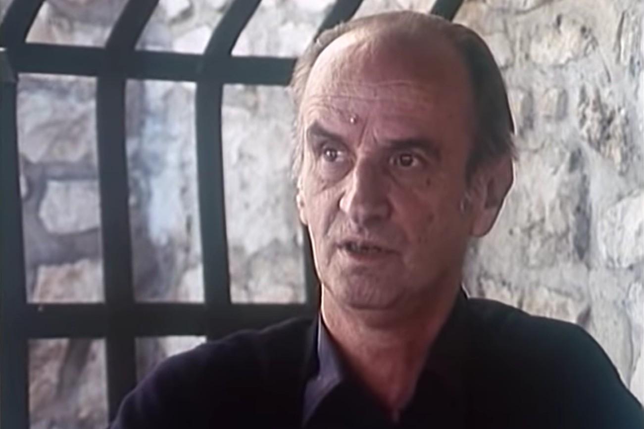 Borislav Mihajlović Mihiz, književni kritičar, književnik, dramaturg i scenarista (Foto: Snimak ekrana/Jutjub/Fondacija Slobodan Stojanović)