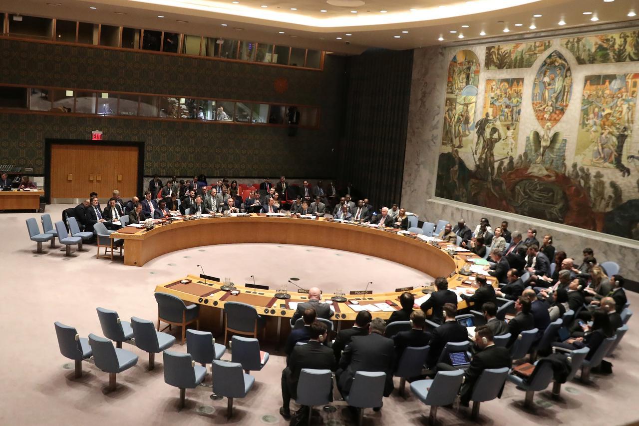 Zasedanje Saveta bezbednosti Ujedinjenih nacija, Njujork, 26. februar 2019. (Foto: Reuters/Shannon Stapleton)