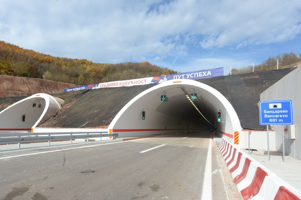 Tunel Bancarevo na istočnom kraku Koridora 10 koji spaja Srbiju i Bugarsku (Foto: Predsedništvo/Dimitrije Goll)