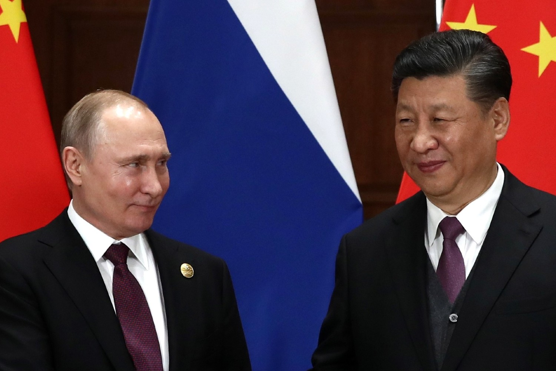 Ruski predsednik Vladimir Putin i kineski predsednik Si Đinping tokom sastanka u Pekingu, 26. april 2019. (Foto: TASS/kremlin.ru)