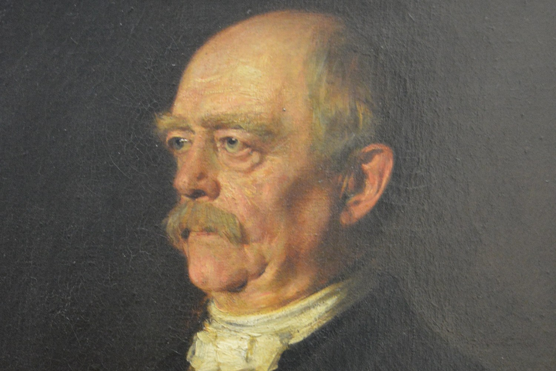 "Franc fon Lenbah, ""Portret Ota fon Bizmarka"", 1884. (Foto: Wikimedia/Illustratedjc)"