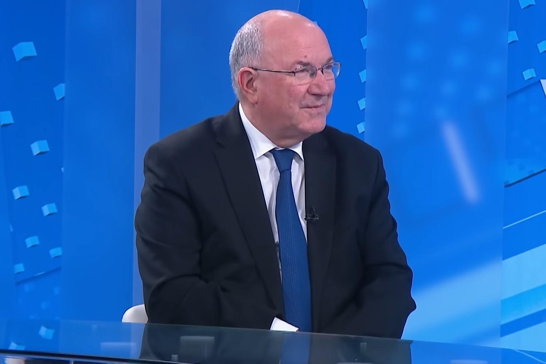 Bivši ministar spoljnih poslova Hrvatske Mate Granić (Foto: Snimak ekrana/Jutjub/N1)