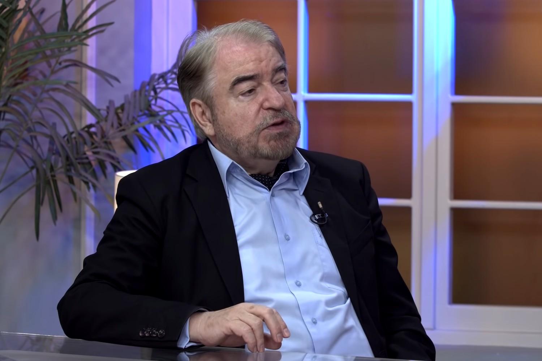 Profesor dr Dragan Simeunović (Foto: Snimak ekrana/Jutjub/Jutarnji Program TV HAPPY)