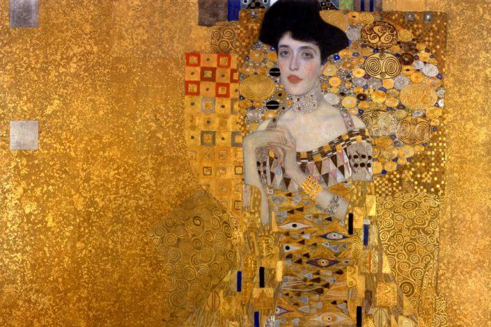 Žene Gustava Klimta u auri nedovršene slike