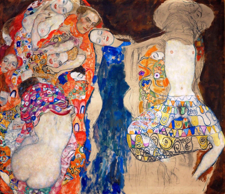 "Gustav Klimt, ""Nevesta"" (Foto: wikioo.org)"