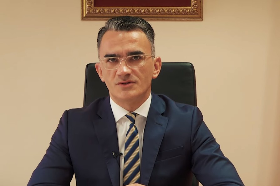 Ministar pravde, ljudskih i manjinskih prava u Vladi Crne Gore Vladimir Leposavić (Foto: Snimak ekrana/Jutjub/Vlada Crne Gore)