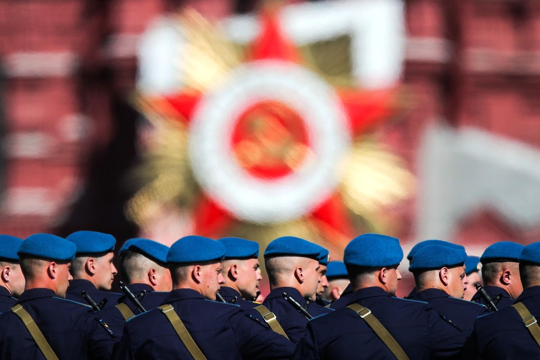 Detalj sa vojne parade povodom Dana pobede u Drugom svetskom ratu, Moskva, 24. jun 2020. (Foto: TASS/kremlin.ru)