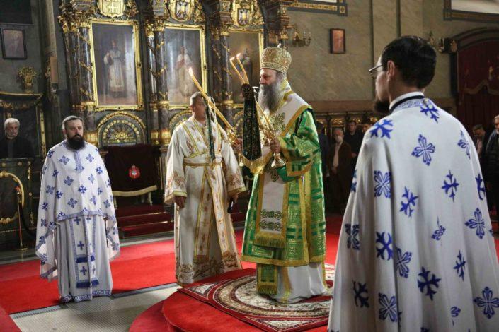 Ustoličenje patrijarha 23. maja u Pećkoj patrijaršiji, istog dana se bira i mitropolit u CG
