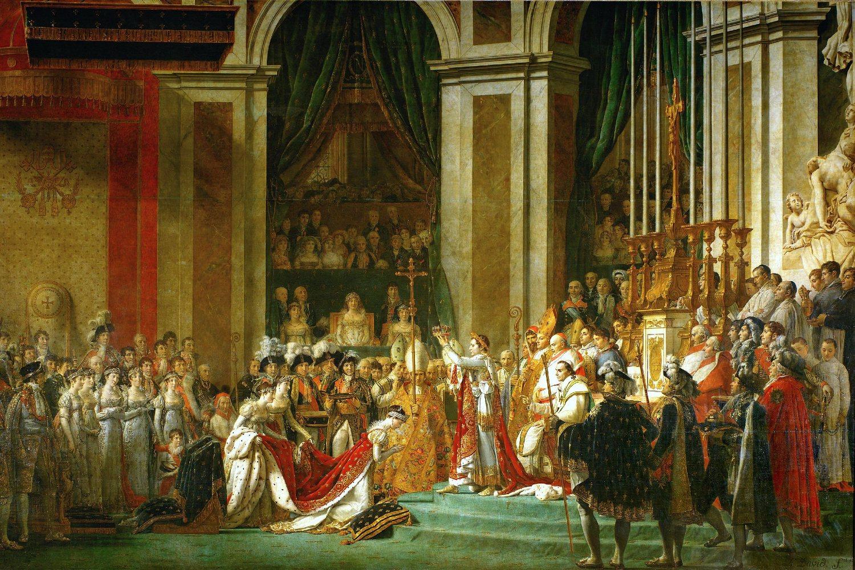 "Žak-Luj David ""Krunisanje Napoleona"", 1805-1807 (Foto: Wikimedia/art database)"