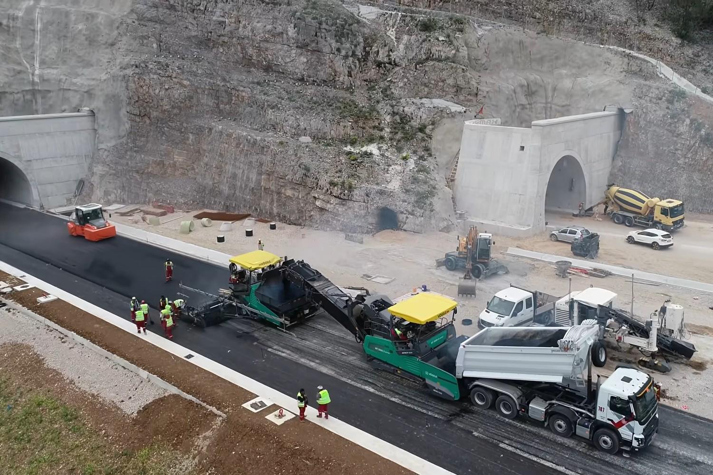 Izgradnja auto-puta Bar-Boljare u Crnoj Gori (Foto: Snimak ekrana/Jutjub/Bemax d.o.o. Montenegro)