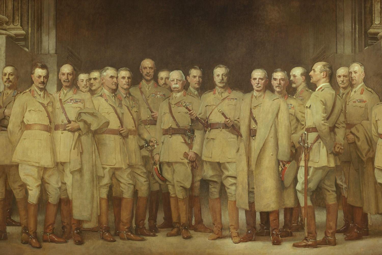 Džon Singer Sardžent, Generali iz Prvog svetskog rata, 1922. (Foto: Wikimedia/National Portrait Gallery: NPG 1954)