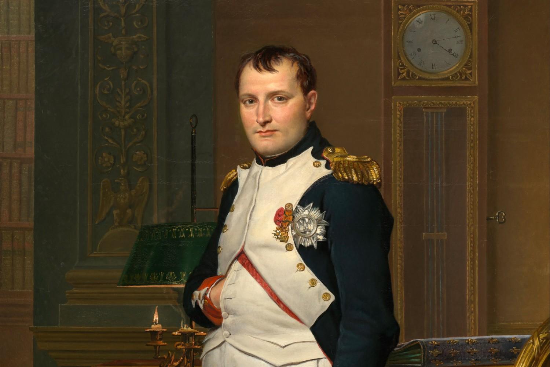 "Žak-Luj David, ""Car Napoleon u svojoj radnoj sobi"", 1812. (Foto: Wikimedia/Google Cultural Institute)"