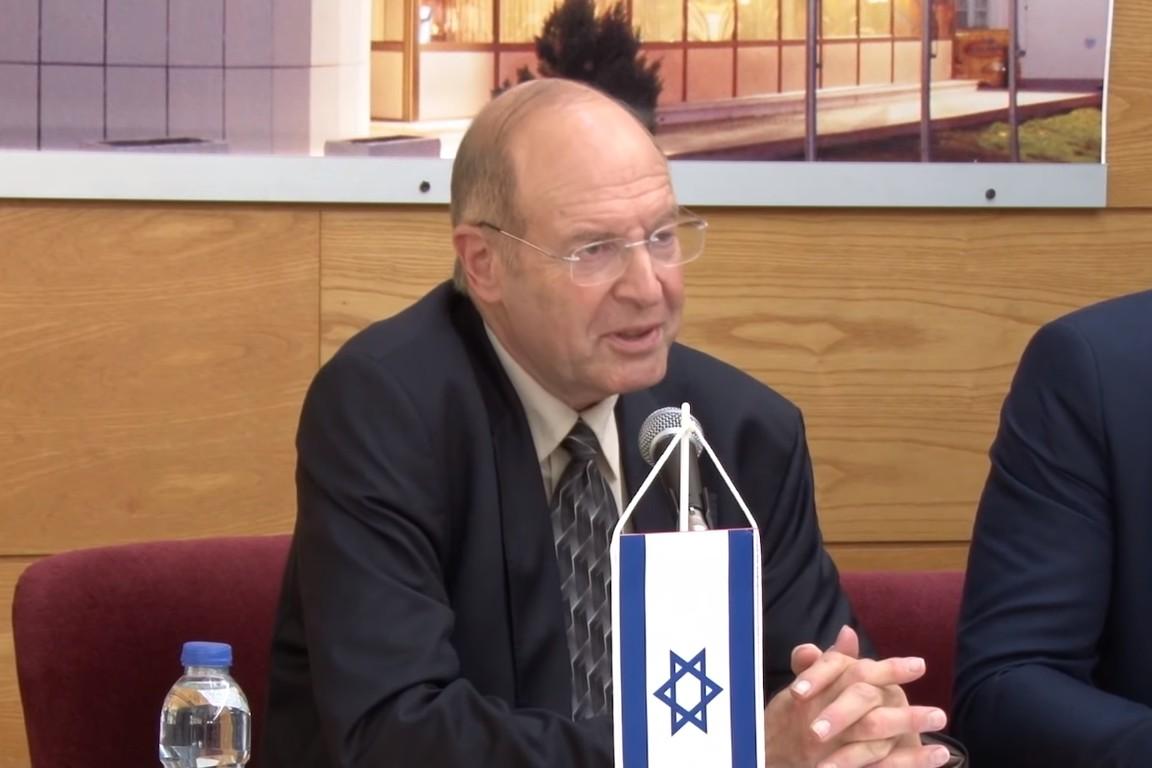 Izraelski istoričar i profesor Gideon Grajf (Foto: Snimak ekrana/Jutjub/Eparhija zvorničko-tuzlanska)
