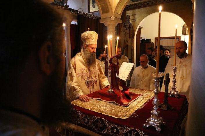 Patrijarh Porfirije: Gorkog su ukusa politički poeni stečeni na raspeću Kosova