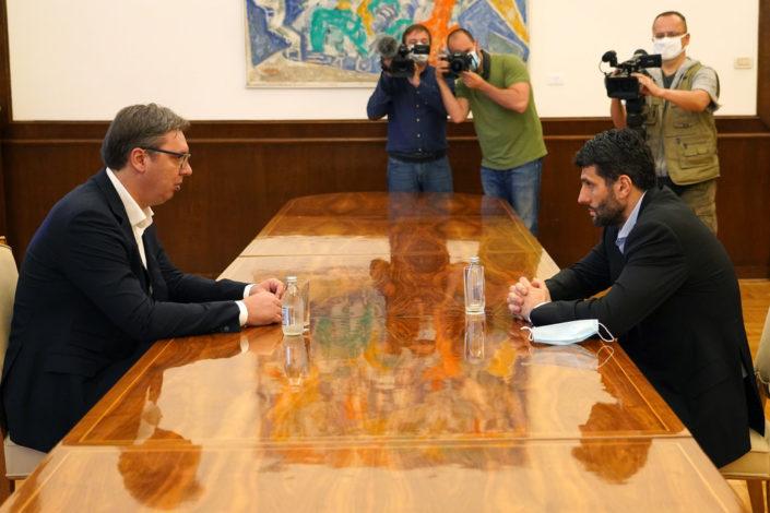 Vučić pozvao Šapića na ujedinjenje, predsednik SPAS-a odgovorio